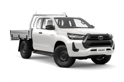 Buy Toyota Hilux outright purchase vans