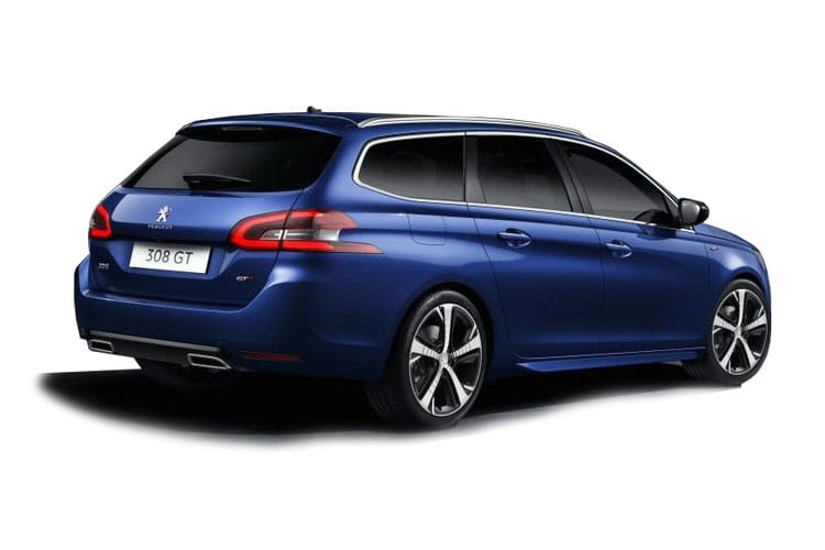 Peugeot 308 SW 5Dr 1.2 PureTech 130PS Allure 5Dr Manual [Start Stop] back view