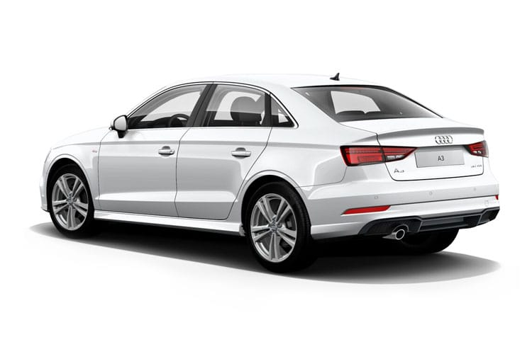 Audi A3 35 Saloon 4Dr 1.5 TFSI 150PS S line 4Dr S Tronic [Start Stop] [Comfort Sound] back view
