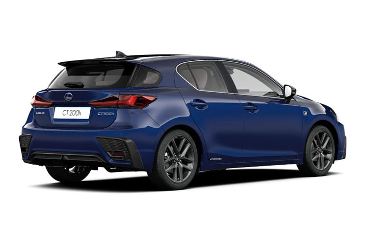 Lexus CT 200h Hatch 5Dr 1.8 h 136PS CT 5Dr E-CVT [Start Stop] [Premium 16in Alloy] back view