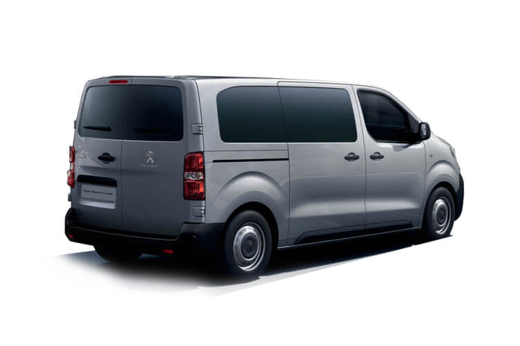 Peugeot Expert Combi Long M1 1.5 BlueHDi FWD 120PS  Combi Manual [Start Stop] [5Seat] back view