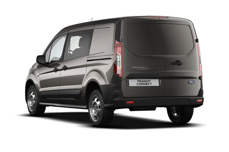 Ford Transit Connect 230 L2 1.5 EcoBlue FWD 120PS Trend Crew Van Auto [Start Stop] [DCiV] back view