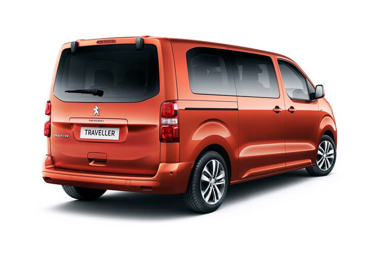 Peugeot Traveller Long 5Dr 2.0 BlueHDi FWD 145PS Allure MPV Manual [Start Stop] [8Seat] back view
