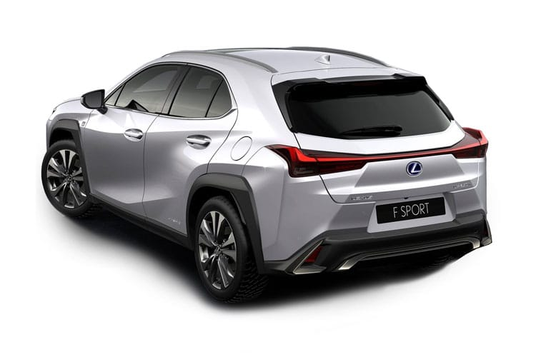 Lexus UX 250h SUV 2.0 h 184PS UX 5Dr E-CVT [Start Stop] [Prem Plus] back view
