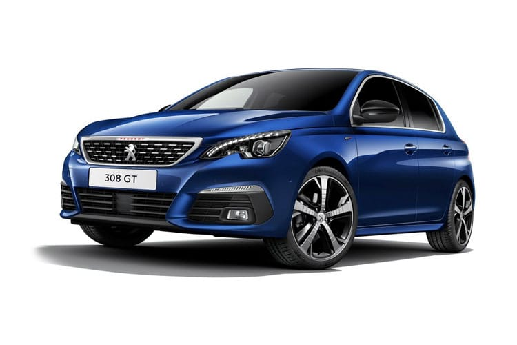 Peugeot 308 Hatch 5Dr 1.5 BlueHDi 130PS GT Premium 5Dr EAT8 [Start Stop] front view