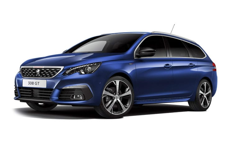 Peugeot 308 SW 5Dr 1.2 PureTech 130PS Allure 5Dr Manual [Start Stop] front view