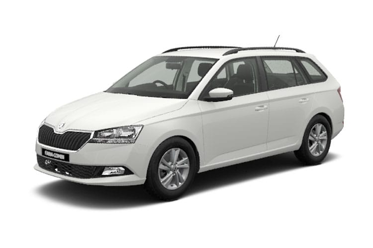 Skoda Fabia Estate 1.0 TSi 95PS SE L 5Dr Manual [Start Stop] front view