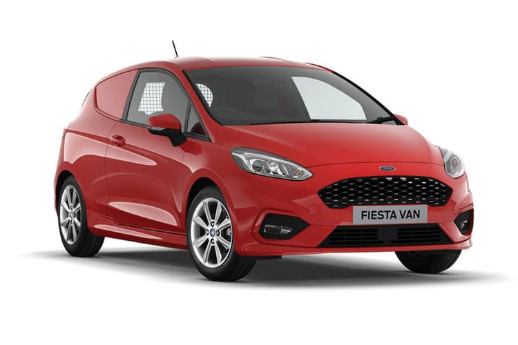 Ford Fiesta Van 1.5 TDCi FWD 85PS  Van Manual [Start Stop] front view