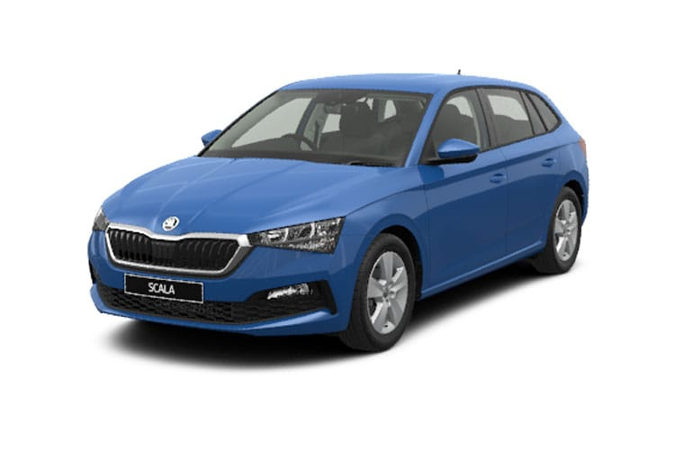 Skoda Scala Hatch 5Dr 1.5 TSi 150PS SE 5Dr Manual [Start Stop] front view