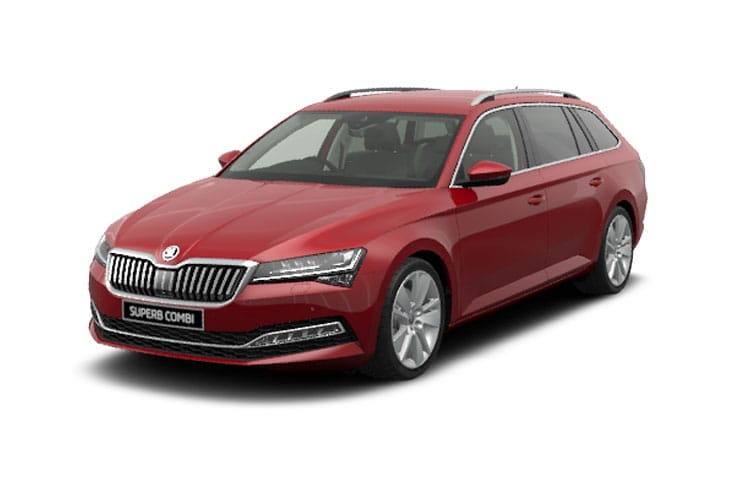 Skoda Superb Estate 1.5 TSi ACT 150PS SE L 5Dr Manual [Start Stop] front view