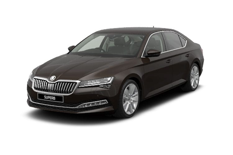 Skoda Superb Hatch 5Dr 1.5 TSi ACT 150PS SportLine Plus 5Dr DSG [Start Stop] front view