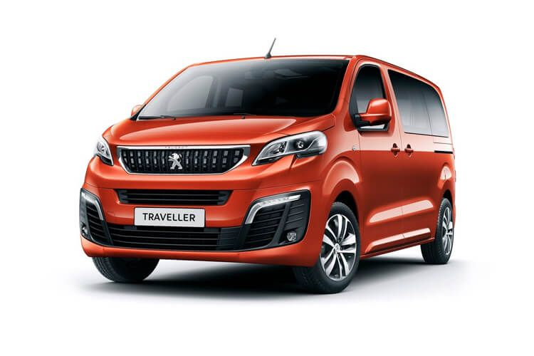 Peugeot Traveller Long 5Dr 2.0 BlueHDi FWD 145PS Allure MPV Manual [Start Stop] [8Seat] front view