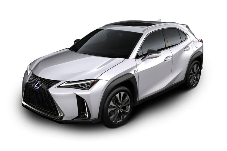 Lexus UX 250h SUV 2.0 h 184PS F-Sport 5Dr E-CVT [Start Stop] [Prem Plus SRoof] front view