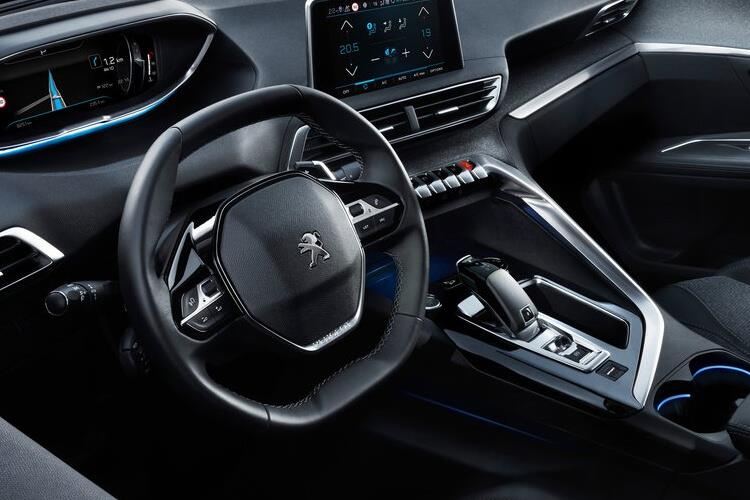 Peugeot 3008 SUV 1.5 BlueHDi 130PS GT 5Dr Manual [Start Stop] inside view