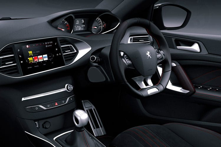 Peugeot 308 SW 5Dr 1.2 PureTech 130PS Allure 5Dr Manual [Start Stop] inside view