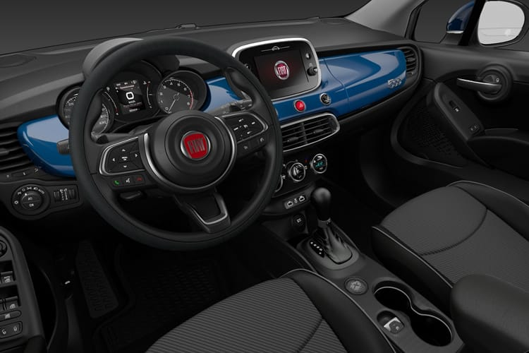 Fiat 500X SUV 1.0 FireFly Turbo 120PS City Cross 5Dr Manual [Start Stop] inside view