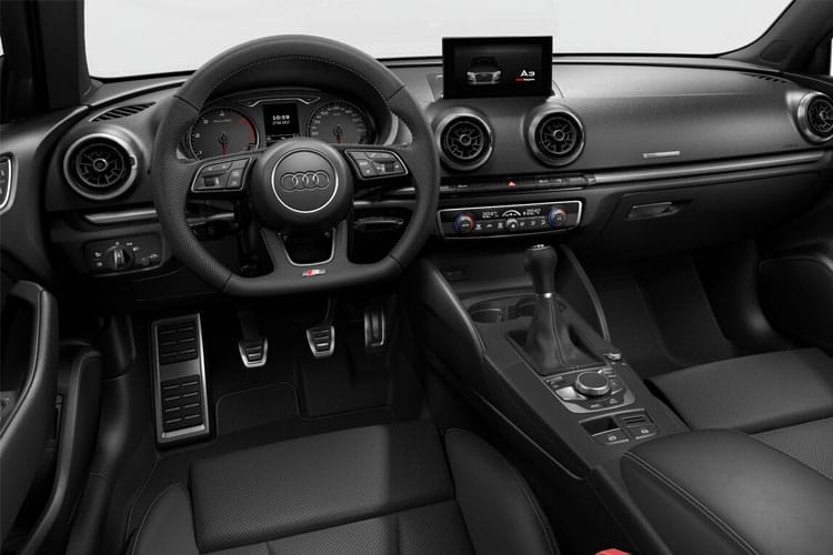 Audi A3 35 Saloon 4Dr 1.5 TFSI 150PS S line 4Dr S Tronic [Start Stop] [Comfort Sound] inside view