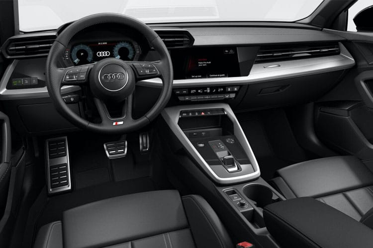 Audi A3 35 Sportback 5Dr 2.0 TDI 150PS Technik 5Dr S Tronic [Start Stop] [Comfort Sound] inside view
