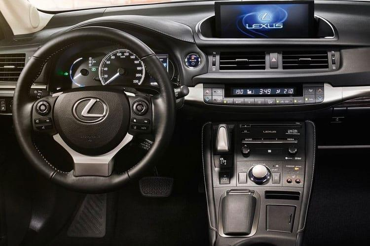 Lexus CT 200h Hatch 5Dr 1.8 h 136PS CT 5Dr E-CVT [Start Stop] [Premium 16in Alloy] inside view