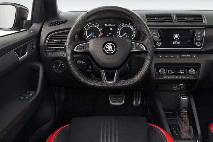 Skoda Fabia Hatch 5Dr 1.0 TSi 95PS Colour Edition 5Dr Manual [Start Stop] inside view