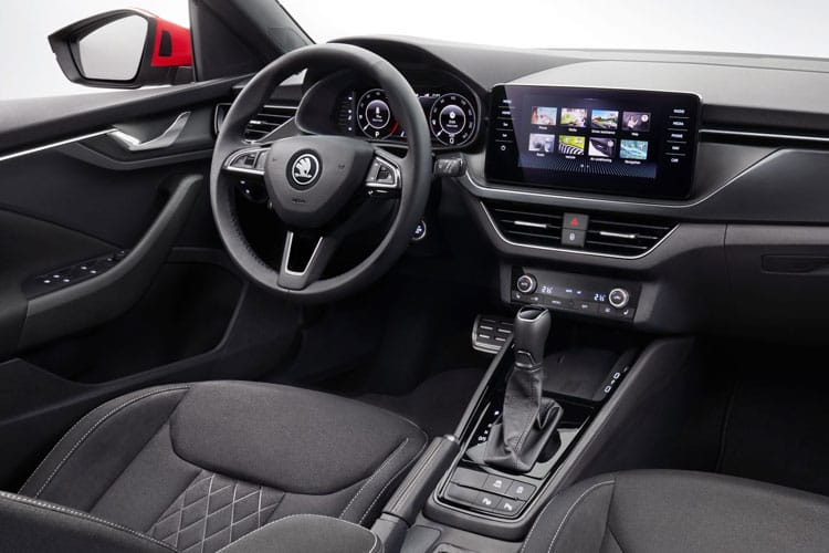 Skoda Kamiq SUV 1.5 TSi ACT 150PS Monte Carlo 5Dr Manual [Start Stop] inside view