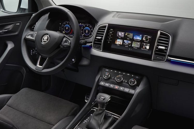 Skoda Karoq SUV 1.5 TSi ACT 150PS SE Drive 5Dr DSG [Start Stop] inside view