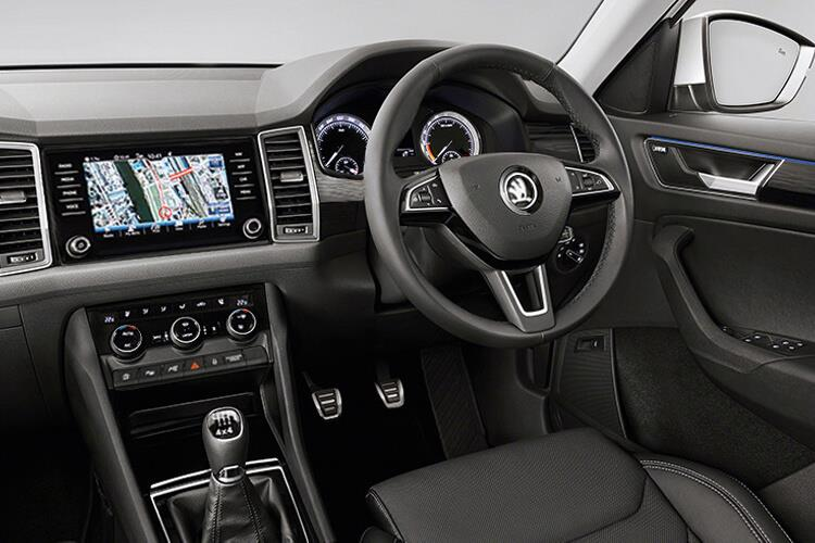 Skoda Kodiaq SUV 1.5 TSi ACT 150PS SE 5Dr DSG [Start Stop] [5Seat] inside view