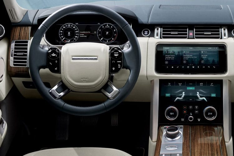 Land Rover Range Rover SUV 3.0 D MHEV 350PS Vogue 5Dr Auto [Start Stop] inside view