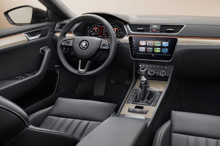 Skoda Superb Hatch 5Dr 2.0 TDi 200PS SE L 5Dr DSG [Start Stop] inside view