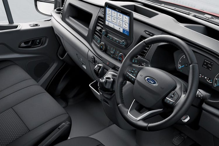 Ford Transit 350 L2 RWD 2.0 EcoBlue RWD 130PS Leader Crew Van High Roof Manual [Start Stop] [DCiV] inside view